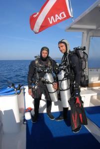 plongées techniques en Sardaigne tec 40