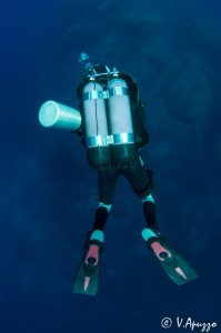 Dekompressionstauchgänge bis 50 Meter Tiefe gemacht tec 50