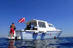 Diving Boat Palau Sardegna