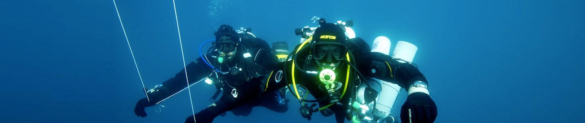 Tec Course Tecrec 40 Technical diving Sardinia