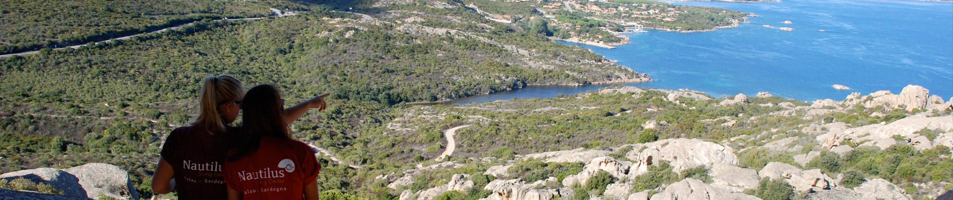Vista da Orso Palau Nautilus Sardegna