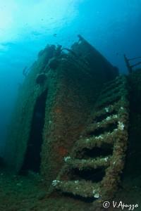 Relitto Angelika Palau Sardegna Diving