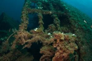 Wreck diving Sardinia Italy