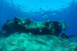 Diver at Spagi Island